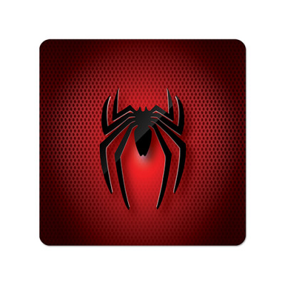 Fridge Magnet Square - Spider